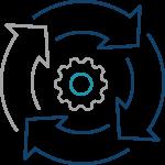 IoT-Sicherheit - Service Icon