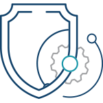 Security Device Management and Support - Service Icon